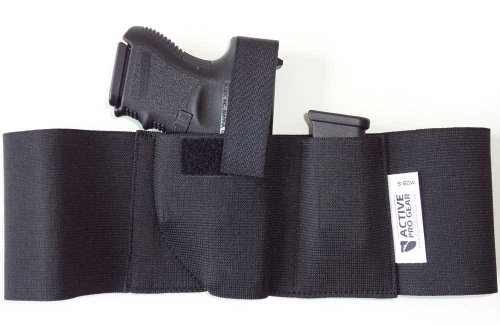Active Pro Gear Defender Concealment Belly Band Holster (Small 28-32 Inches, Right Hand Draw)