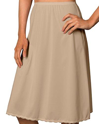 Shadowline 25 inch Flare Daywear Half Slip (4711625) L/Nude