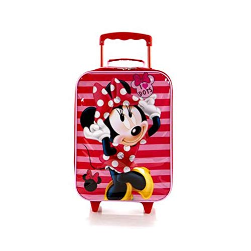 Disney Minnie Mouse Soft Side Trolley Kids Luggage Case 17 Inch
