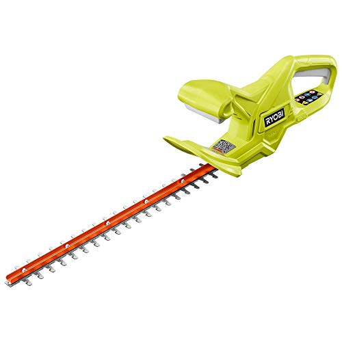 RYOBI P2607BTL ONE+ 18 in. 18-Volt Lithium-Ion Cordless Hedge Trimmer (Tool-Only)