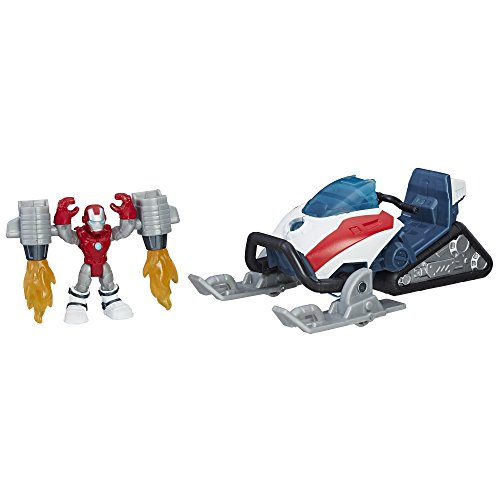 Playskool Heroes Marvel Super Hero Adventures Iron Man Arc-Tech Snowjumper