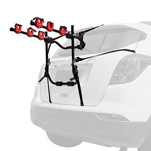 WUPYI 3-Bike Bicycle Rack,Portable Foldable Bike Rack Hitch Mount Carrier Car SUV Truck
