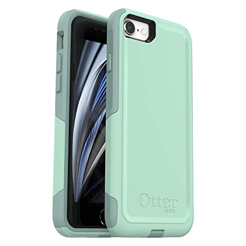 OtterBox COMMUTER SERIES Case for iPhone SE (2nd gen - 2020) and iPhone 8/7 (NOT PLUS) - Frustration Free Packaging - OCEAN WAY (AQUA SAIL/AQUIFER)