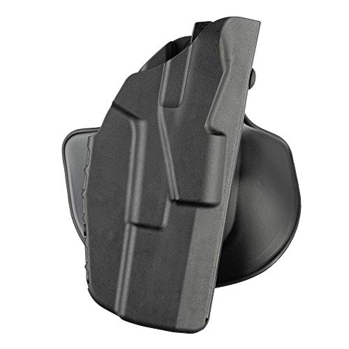 Safariland 7378, ALS Concealment Paddle and Belt Loop Combo Holster, Fits: Glock 43, Black - STX Plain, Right Hand