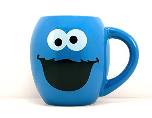 Cookie Monster 18 oz Oval Coffee Mug