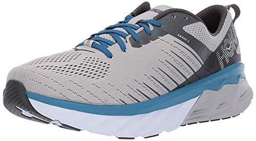 HOKA ONE ONE Men's Arahi 3 Running Shoes, Vapor Blue/Dark Shadow, Size 10 M US