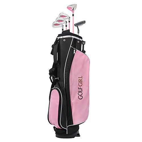 Golf Girl Junior V2 Golf Club Set with Stand Bag (Right Hand, Ages 4-7)