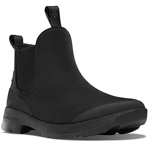 Danner #30330 Men`s Boots | Pub Garden Chelsea Jet Black (10.5 D, Jet Black)