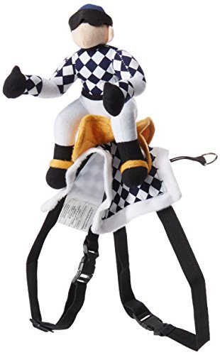 Zack & Zoey Show Jockey Saddle Dog Costume, Large