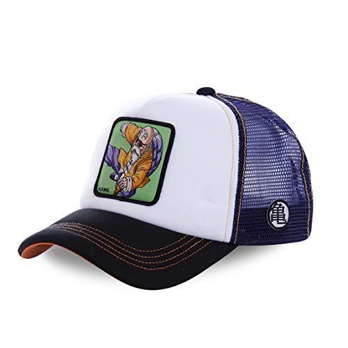 Capslab Men's Trucker Baseball Cap Dragon Ball Z (Kame Master Roshi (Purple))