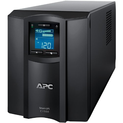 APC Smart-UPS 1500VA UPS Battery Backup with Pure Sine Wave Output (SMC1500)(Not Sold in Vermont)
