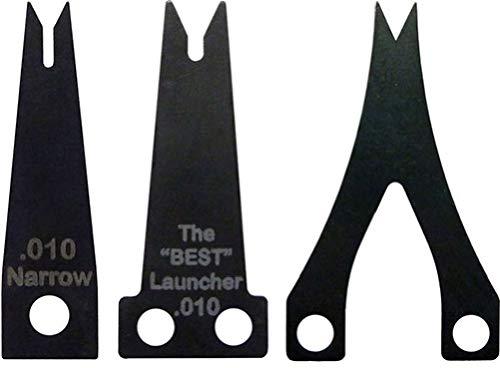Trophy Taker Spring Steel Launcher .012 Wide Blade, Black