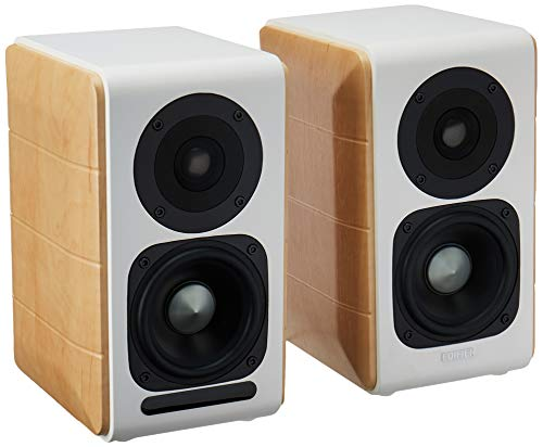 Edifier S880DB Bluetooth Optical Coaxial Active Powered Bookshelf Speakers Near-Field Monitors Great for Gaming, Computers, and TV