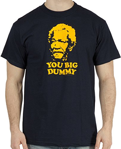 Sanford and Son 'You big Dummy' T-shirt Blue [Apparel] Size: Medium Color: Blue