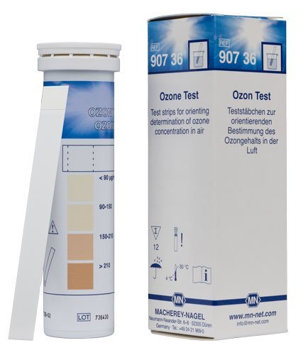 Macherey-Nagel, 90736, Ozone Test Sticks, Box of 12 Strips. Determination of Ozone in air.