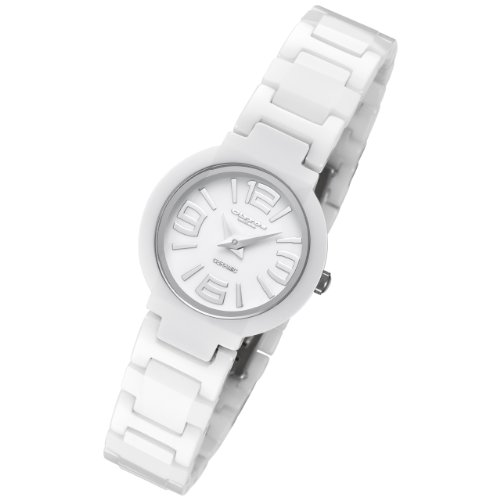 Cirros Luxury White Ladies Ceramic Watch Model 2263L