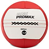 Champion Sports RPX4 Rhino Promax Slam Balls, 4 lb, Soft Shell with Non-Slip Grip, Medicine Wall Ball for Crossfit, Plyometrics & Cross Training