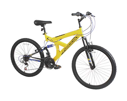 Dynacraft Vertical Alpine Eagle 24' Bike, Yellow