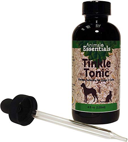 Animal Essentials Tinkle Tonic Herbal Formula for Healthy Urinary Tract in Dogs & Cats, 4 Fluid oz