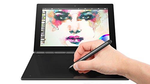 Lenovo Yoga Book - FHD 10.1' Windows Tablet - 2 in 1 Tablet (Intel Atom x5-Z8550 Processor, 4GB RAM, 64GB SSD), Black, ZA150000US