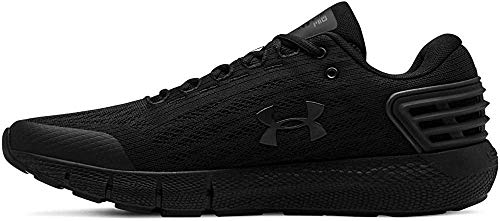 Under Armour Men's Charged Rogue Running Shoe, Black (001)/Black, 8.5