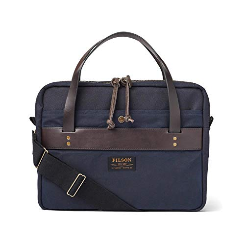 Filson Rugged Twill Compact Briefcase (Navy)