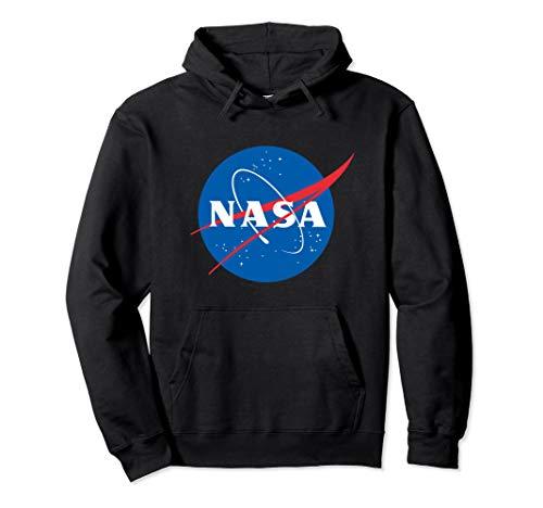 Nasa Officially Licensed Nasa Logo Nasa gift ideas Pullover Hoodie