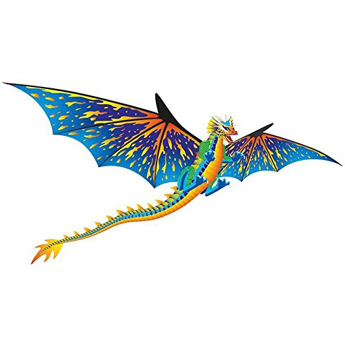 Brainstorm Dragon WindnSun 3-D Nylon Kite, 76'
