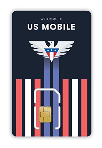 US Mobile Prepaid Super LTE SIM Card - Unlimited Talk, Text & Data from $35/mo.  Mobile Hotspot - No Contract
