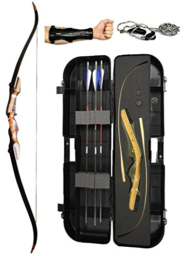 Samick Sage Ready 2 Shoot Package (Left Hand 50 lb Blue)