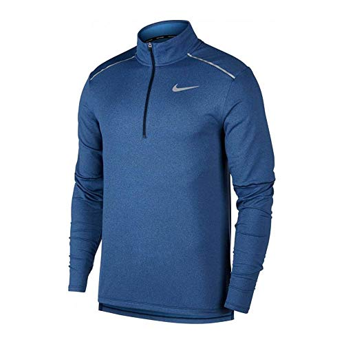 Nike Element Top 1/2 Zip 3.0 Obsidian/Heather/Reflective Silver 1 MD