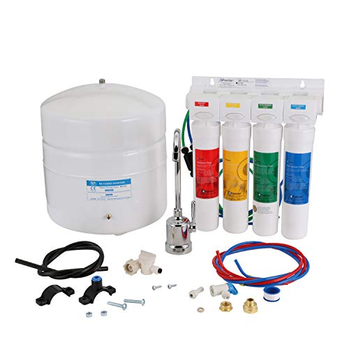 Watts Premier WP531411, RO-Pure with Chrome faucet 4-Stage Reverse Osmosis Water Filtration System