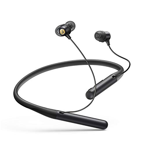 Anker Soundcore Life U2 Bluetooth Neckband Headphones with 24 H Playtime, 10 mm Drivers, Crystal-Clear Calls with CVC 8.0, USB-C Fast Charging, Foldable & Lightweight Build, IPX7 Waterproof