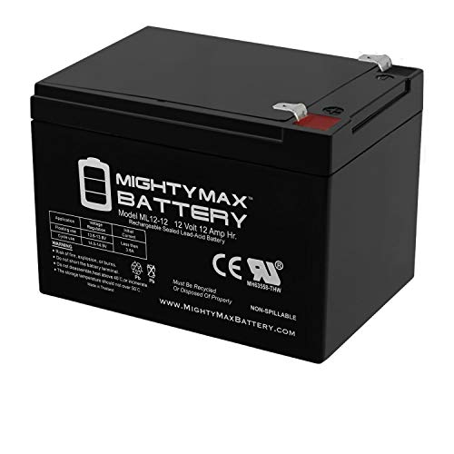 Mighty Max Battery 12V 12AH Replacement Battery for Kid Trax Avigo Mini Cooper Brand Product