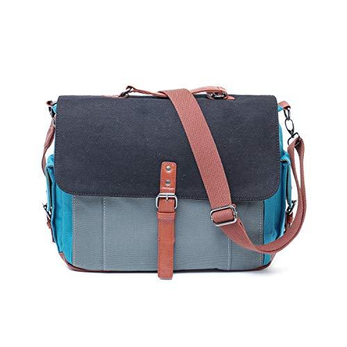 Convertible Backpack Messenger Bag Shoulder Bag Laptop Case 16inch Handbag Business Briefcase Multi-Functional Travel Rucksack Fits Laptop for Men/Women