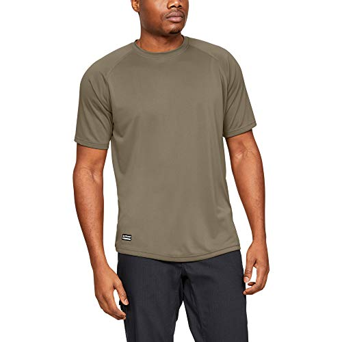 Under Armour Men's Tactical Tech T-Shirt , Federal Tan (499) , Small