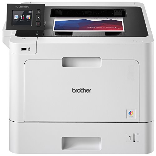 Brother Business Color Laser Printer, HL-L8360CDW, Wireless Networking, Automatic Duplex Printing, Mobile Printing, Cloud printing, Amazon Dash Replenishment Ready