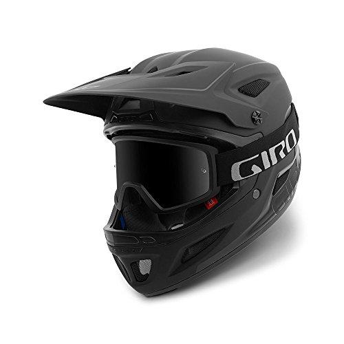 Giro Disciple MIPS Adult Full Face Cycling Helmet - Large (59-63 cm), Matte Black/Gloss Black (2021)
