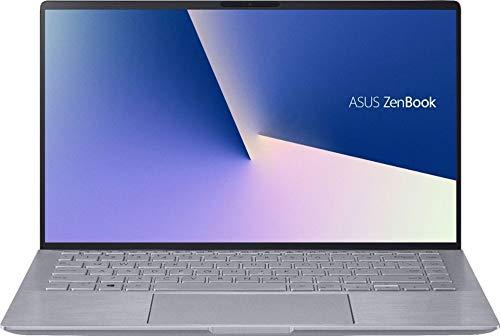 ASUS Zenbook 14' Full HD Laptop, AMD Ryzen 5-4500U, Backlit Keyboard, Front-Facing Camera, HDMI Output, Amazon Alexa, NVIDIA GeForce MX350, Windows 10, Light Gray (8GB RAM   512GB PCIe SSD)