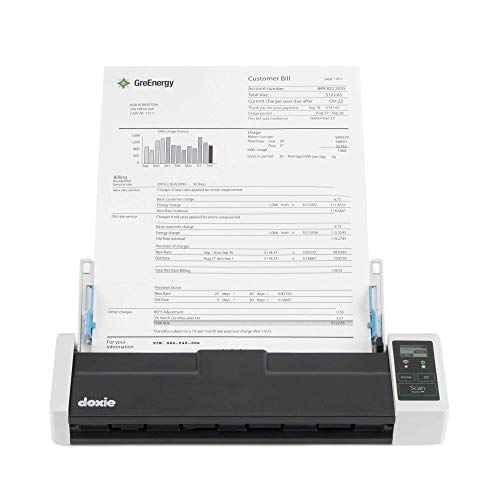 Doxie Q2 — Wireless Rechargeable Document Scanner with Automatic Document Feeder (ADF)