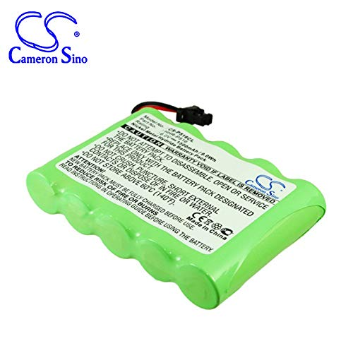 Replacement Battery for PANASONIC KX-TG4500, KXTG4500B Part NO HHR-P516, HHR-P516A, HHR-P516A-1H