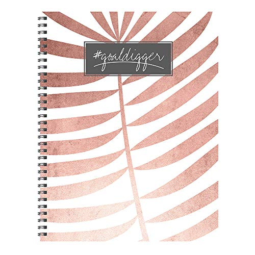 Blush Goal Digger Open Dated Large 9x11 Planner