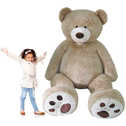 KAYSO INC 102' Oversize Giant Teddy Bear Jumbo Plush Gigantic Stuffed Animal 8.5 FT