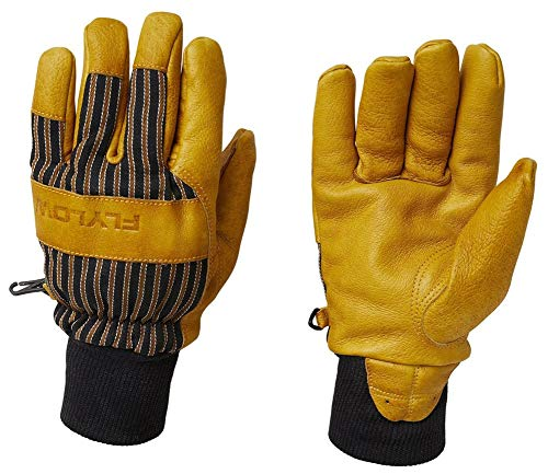Flylow Tough Guy Gloves Natural/Black LG