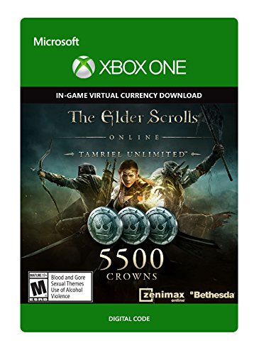 The Elder Scrolls Online Tamriel Unlimited Edition 5,500 Crowns - Xbox One Digital Code