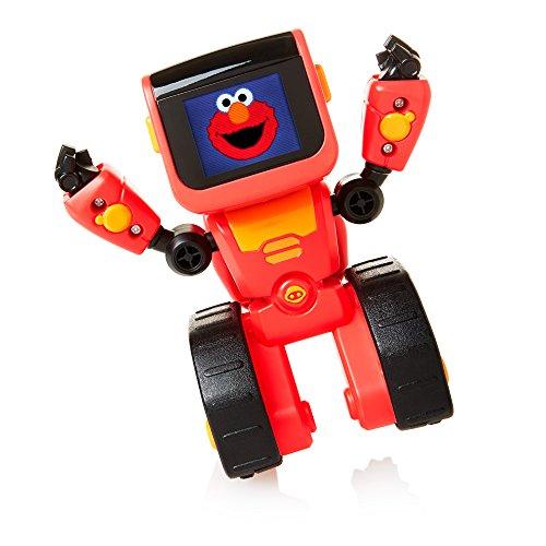 WowWee Elmoji Junior Coding Robot Toy, Red