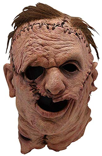 Trick or Treat Texas Chainsaw Massacre Remake Leatherface Mask-Standard, Brown, One Size