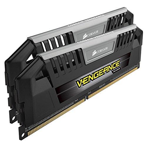 Corsair Vengeance Pro Series 16GB (2x8GB) DDR3 1600 MHZ (PC3 12800) Desktop Memory 1.5V, Black