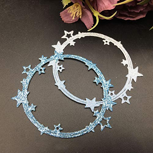 Metal Cutting Die Cut Star Circle Scrapbooking Paper Craft Handmade Card Album Punch Art Cutter