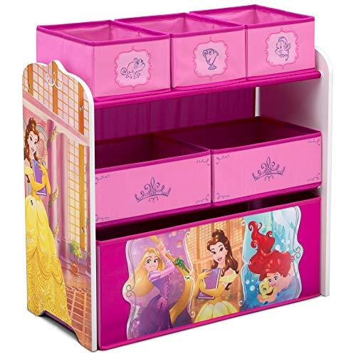 Delta Children Design & Store 6 Bin Toy Storage Organizer, Disney Princess